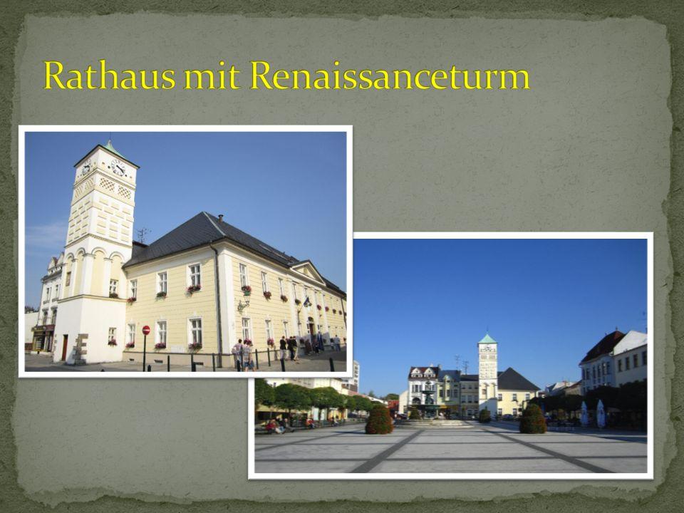 Rathaus mit Renaissanceturm