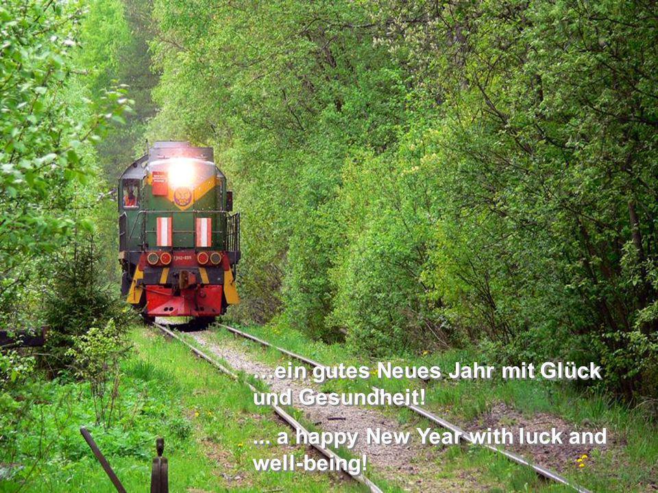 …ein gutes Neues Jahr mit Glück und Gesundheit!