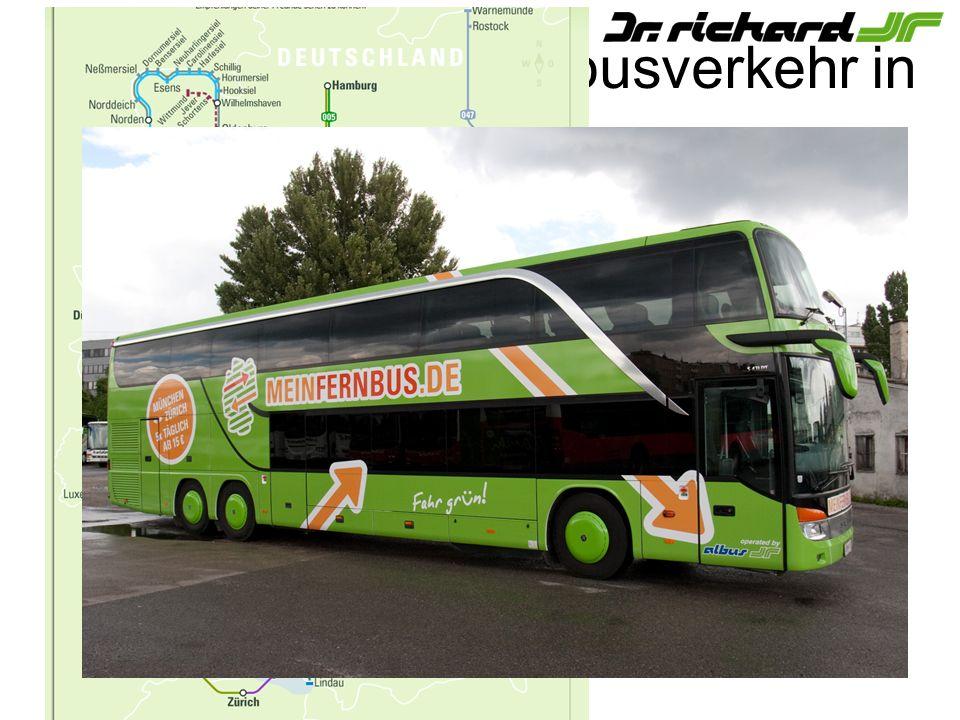 Regional- und Fernbusverkehr in Deutschland
