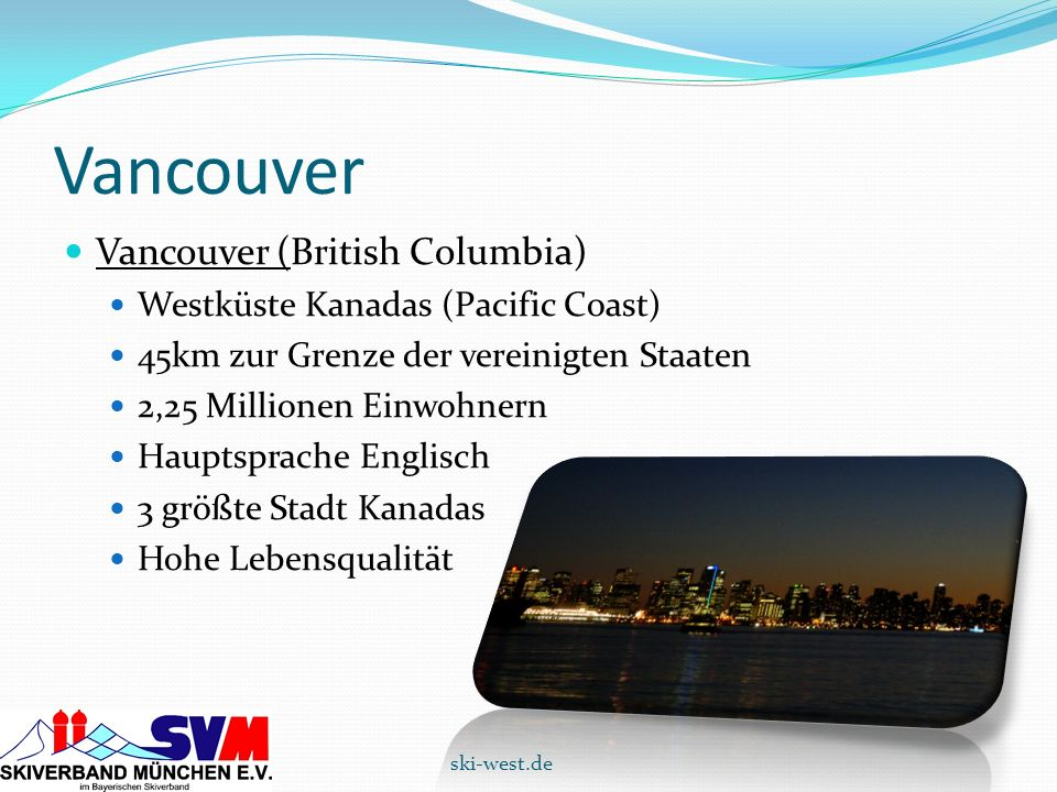 Vancouver Vancouver (British Columbia)