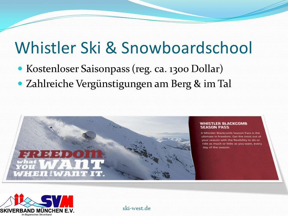 Whistler Ski & Snowboardschool