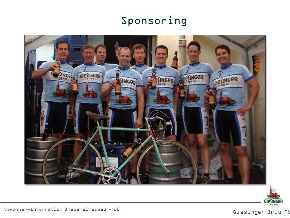Sponsoring Giesinger Bräu München