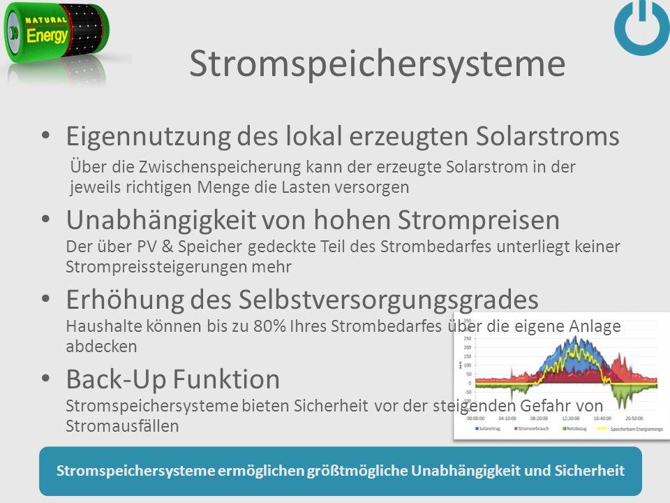 Stromspeichersysteme