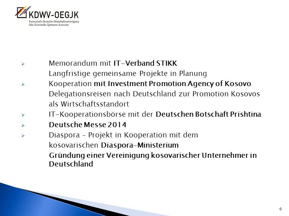 Memorandum mit IT-Verband STIKK