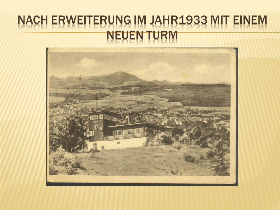 Nach erweiterung im jahr1933 mit einem neuen turm