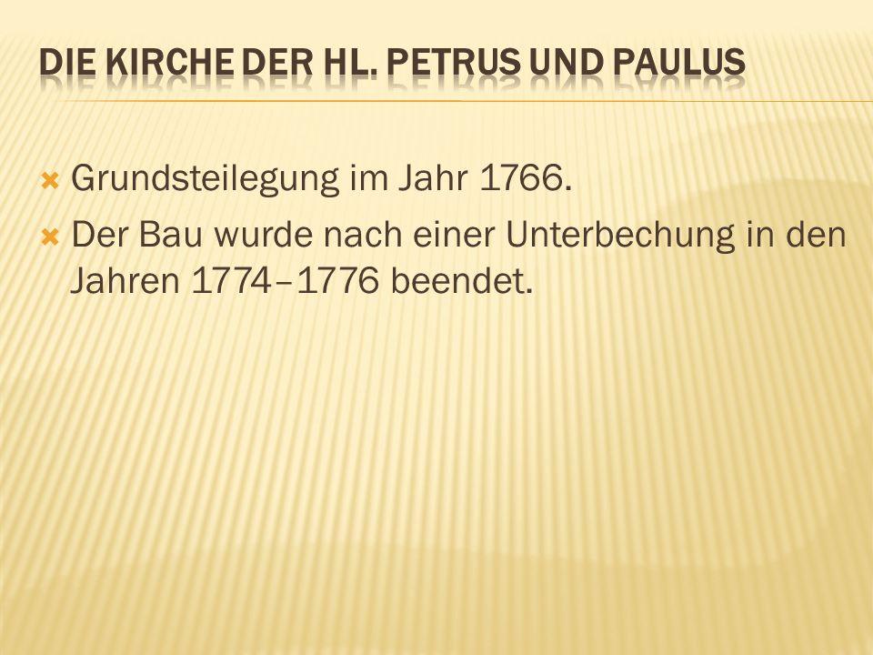 Die kirche der hl. petrus und paulus