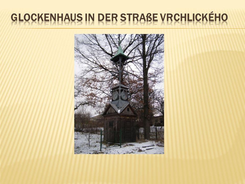 Glockenhaus in der straße vrchlického