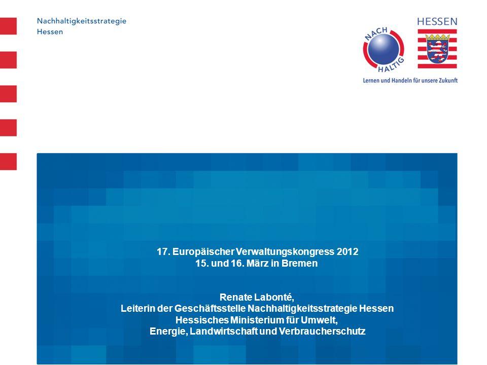17. Europäischer Verwaltungskongress 2012 15. und 16. März in Bremen