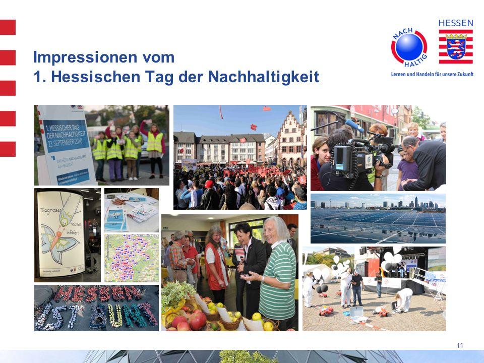 Impressionen vom 1. Hessischen Tag der Nachhaltigkeit