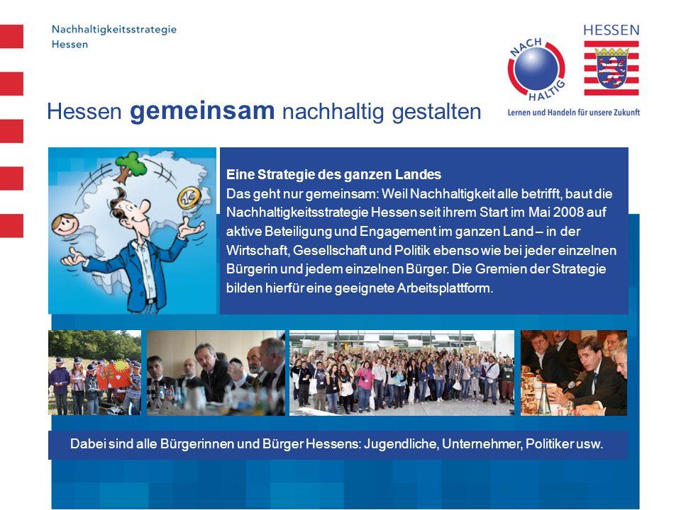 Hessen gemeinsam nachhaltig gestalten