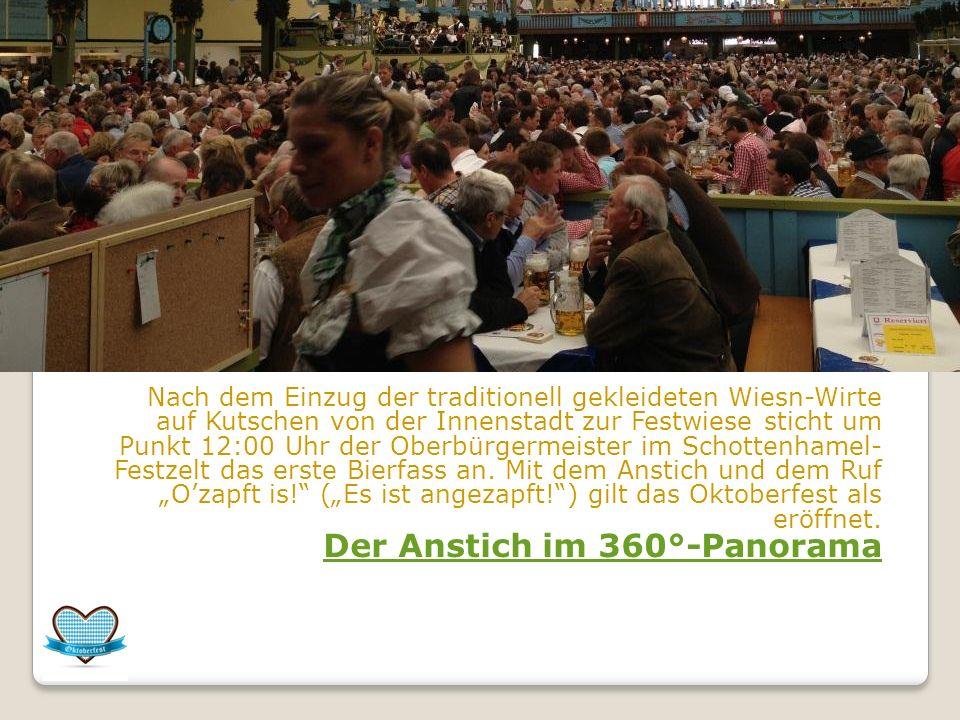 Das Oktoberfest in München (mundartlich auch Wiesn)