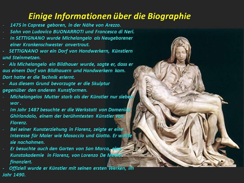 Einige Informationen über die Biographie
