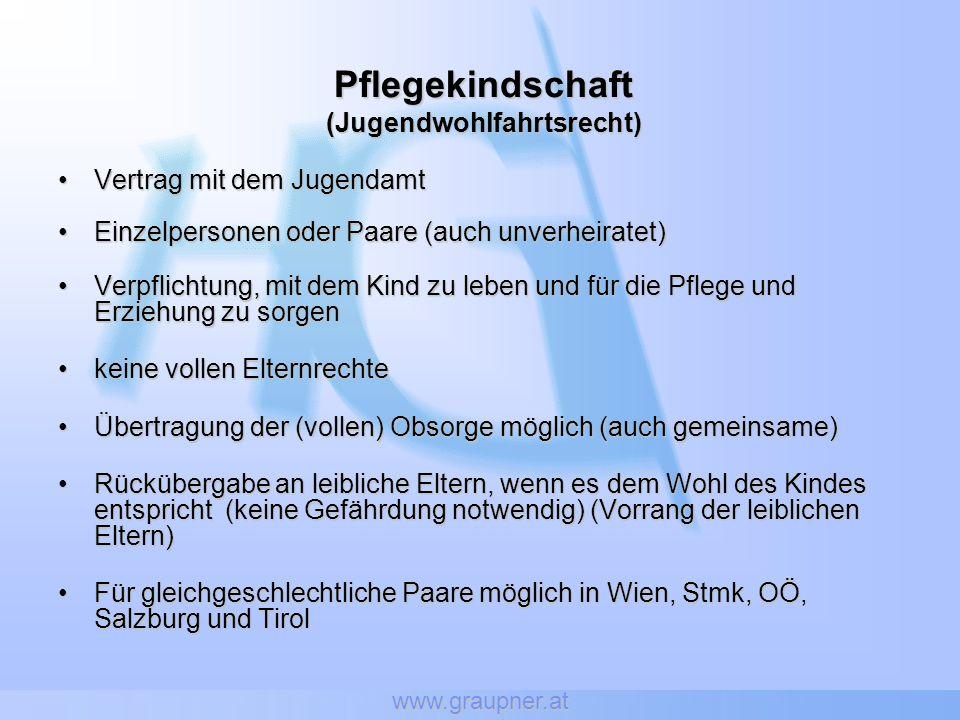 (Jugendwohlfahrtsrecht)