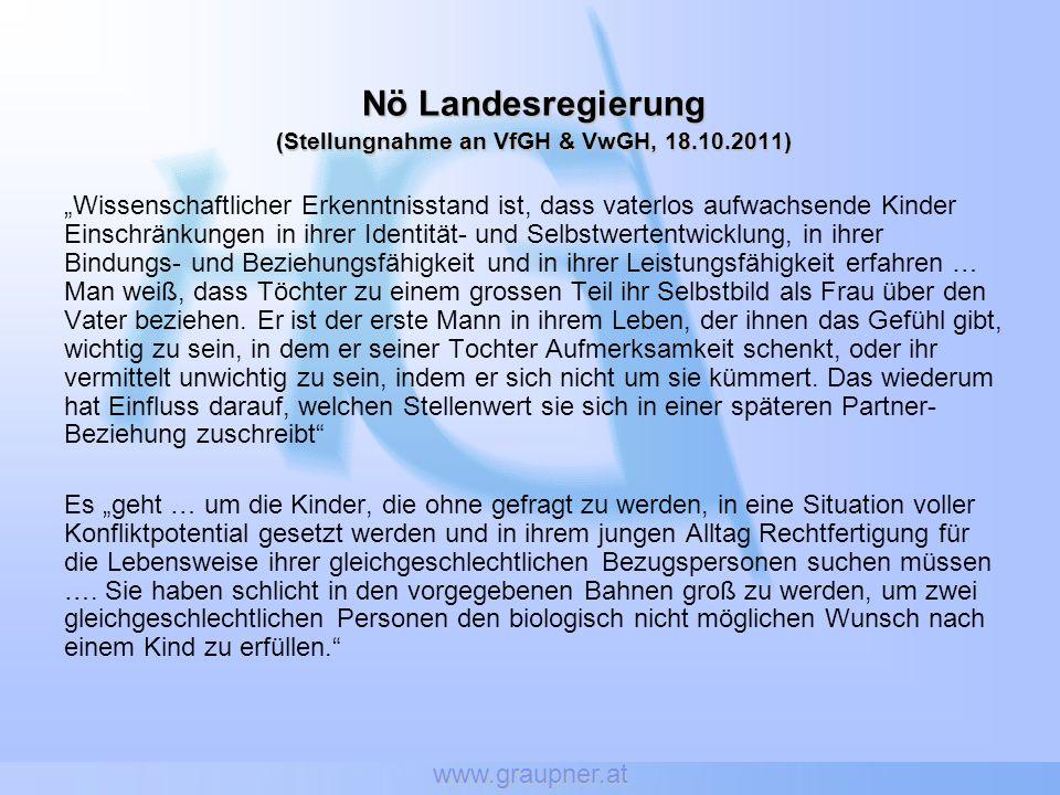 (Stellungnahme an VfGH & VwGH, 18.10.2011)