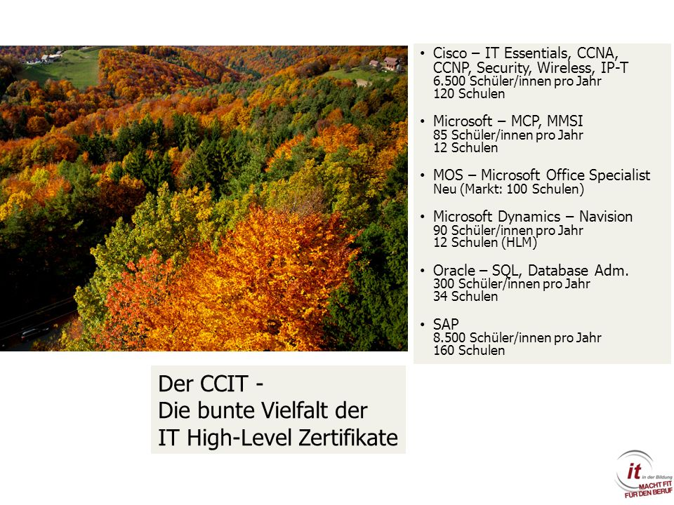 Die bunte Vielfalt der IT High-Level Zertifikate
