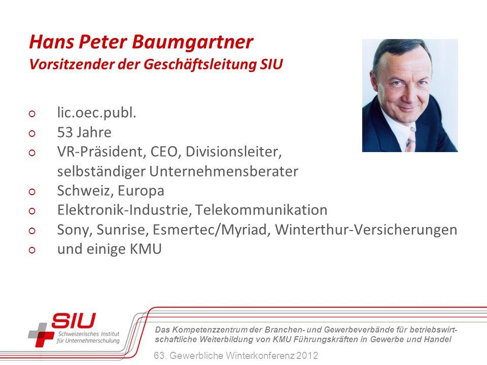 Hans Peter Baumgartner