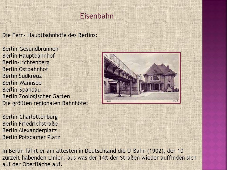 Eisenbahn Die Fern- Hauptbahnhöfe des Berlins: Berlin-Gesundbrunnen