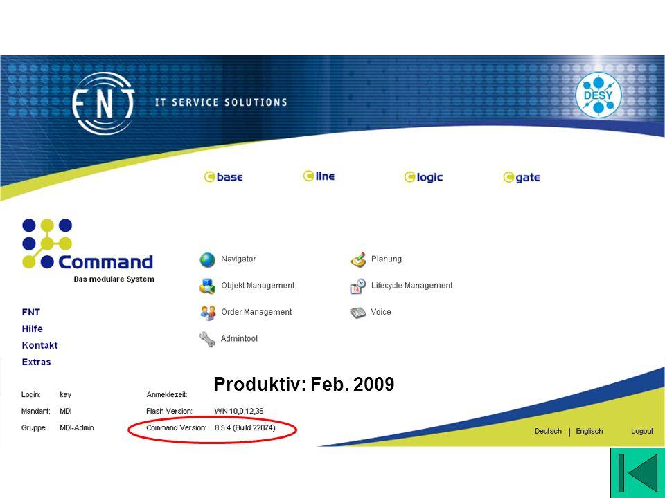 Produktiv: Feb. 2009