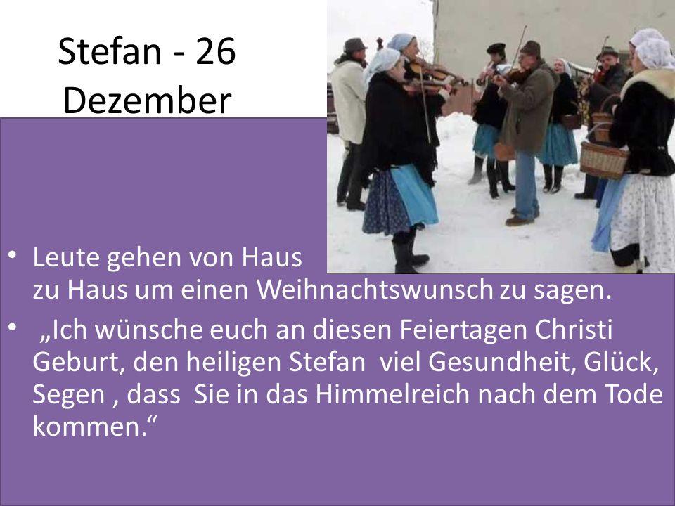 Stefan - 26 Dezember