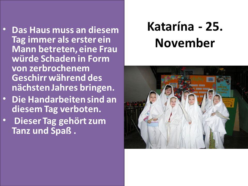 Katarína - 25. November
