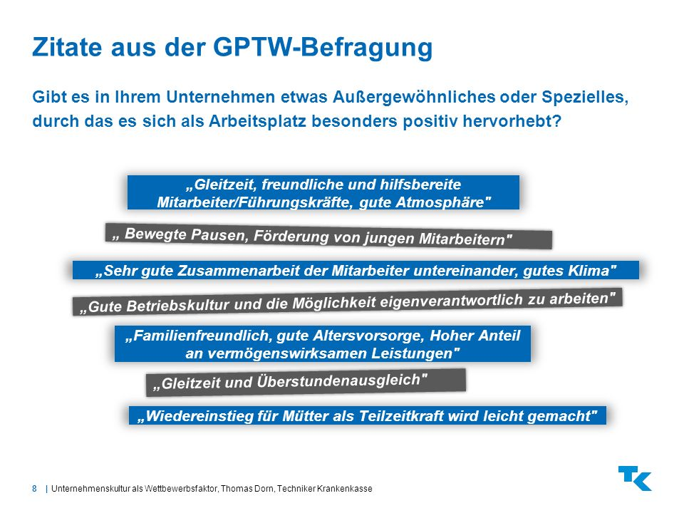 Zitate aus der GPTW-Befragung