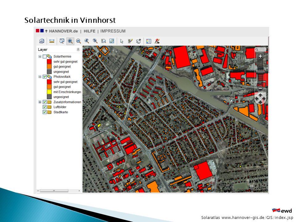 Solartechnik in Vinnhorst