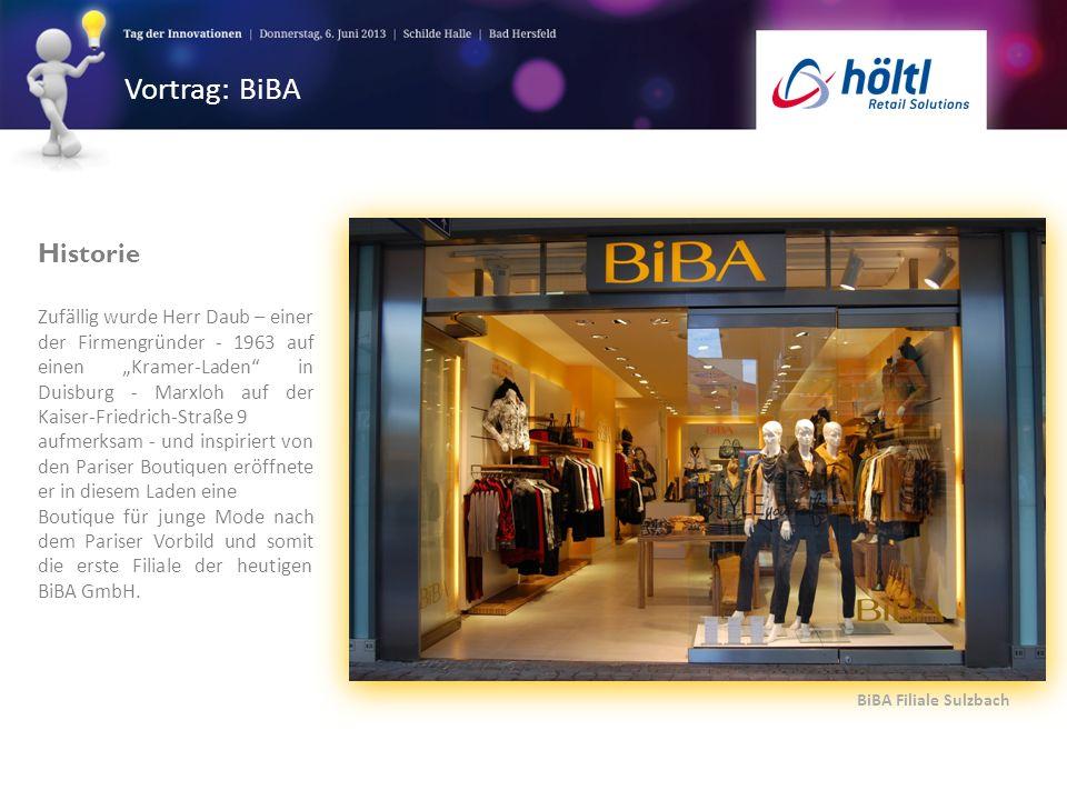 Vortrag: BiBA Historie