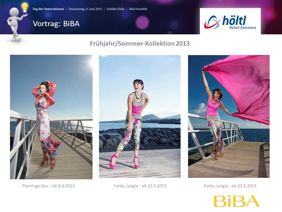 Frühjahr/Sommer-Kollektion 2013