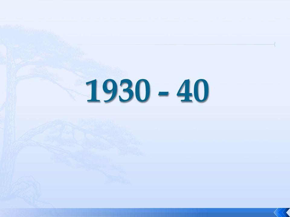 1930 - 40