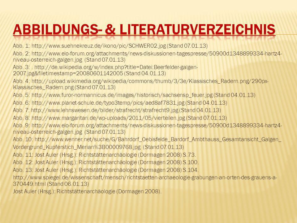 Abbildungs- & Literaturverzeichnis