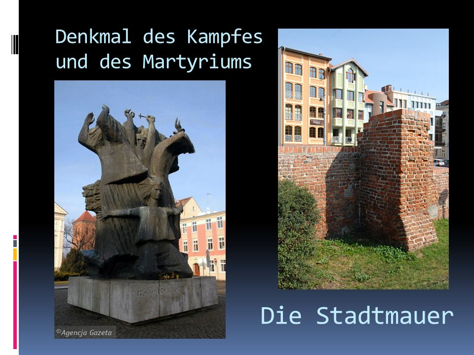Denkmal des Kampfes und des Martyriums