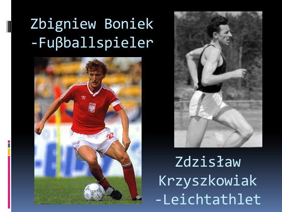 Zbigniew Boniek -Fuβballspieler