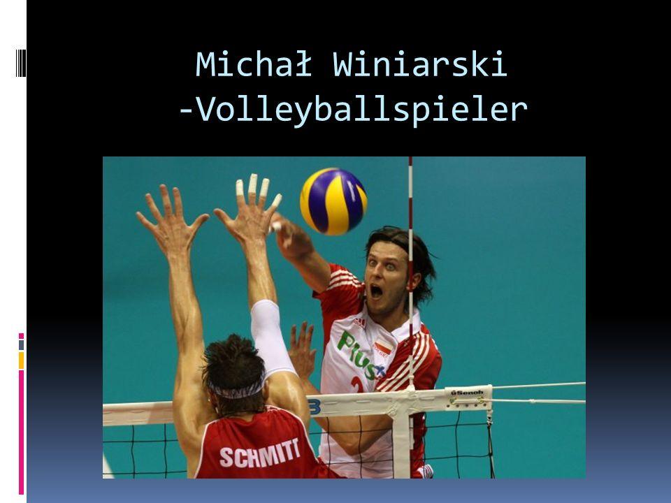 Michał Winiarski -Volleyballspieler