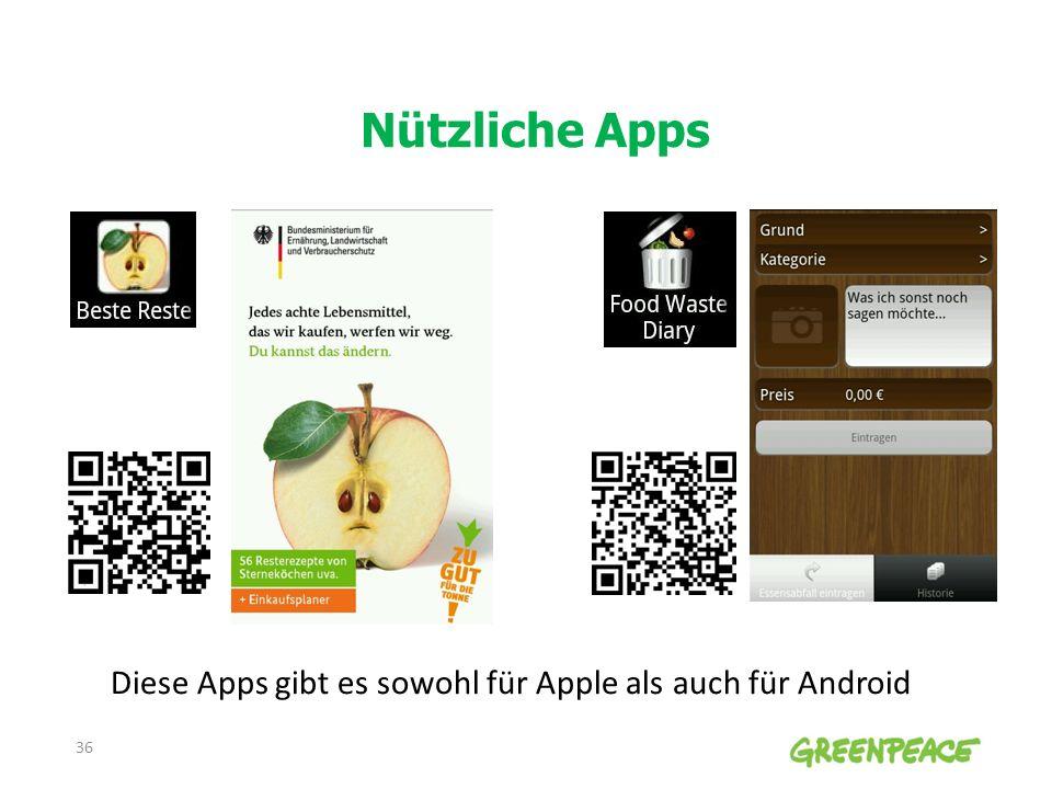 Nützliche Apps Diese Apps gibt es sowohl für Apple als auch für Android