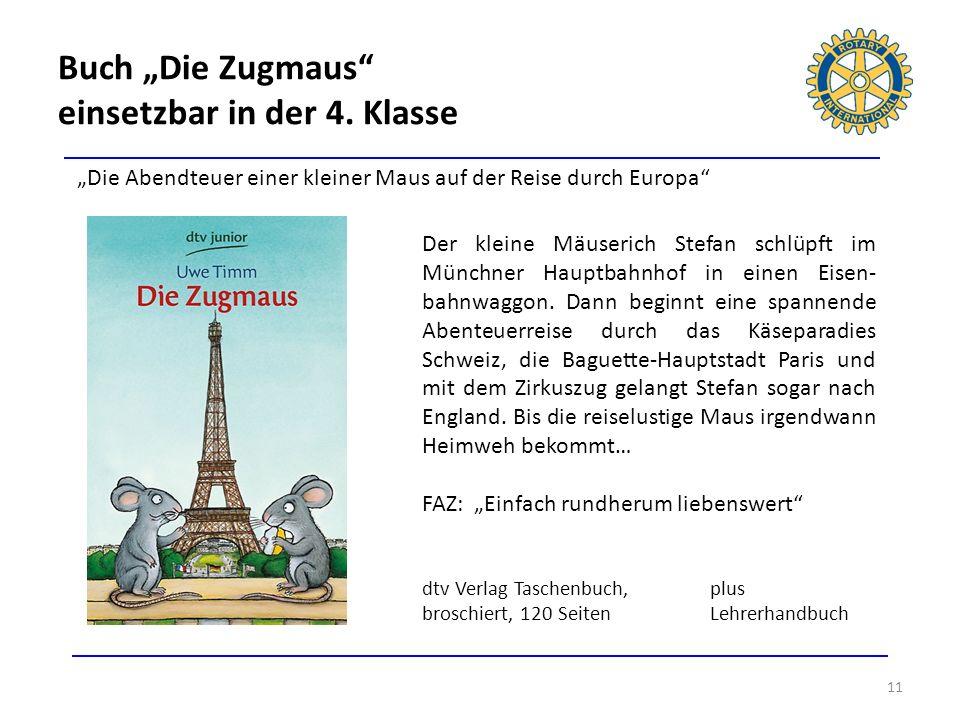 """Buch """"Die Zugmaus einsetzbar in der 4. Klasse"""