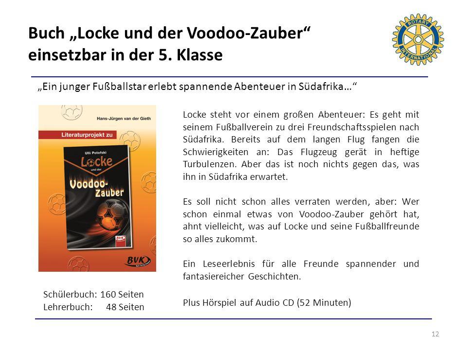 """Buch """"Locke und der Voodoo-Zauber einsetzbar in der 5. Klasse"""