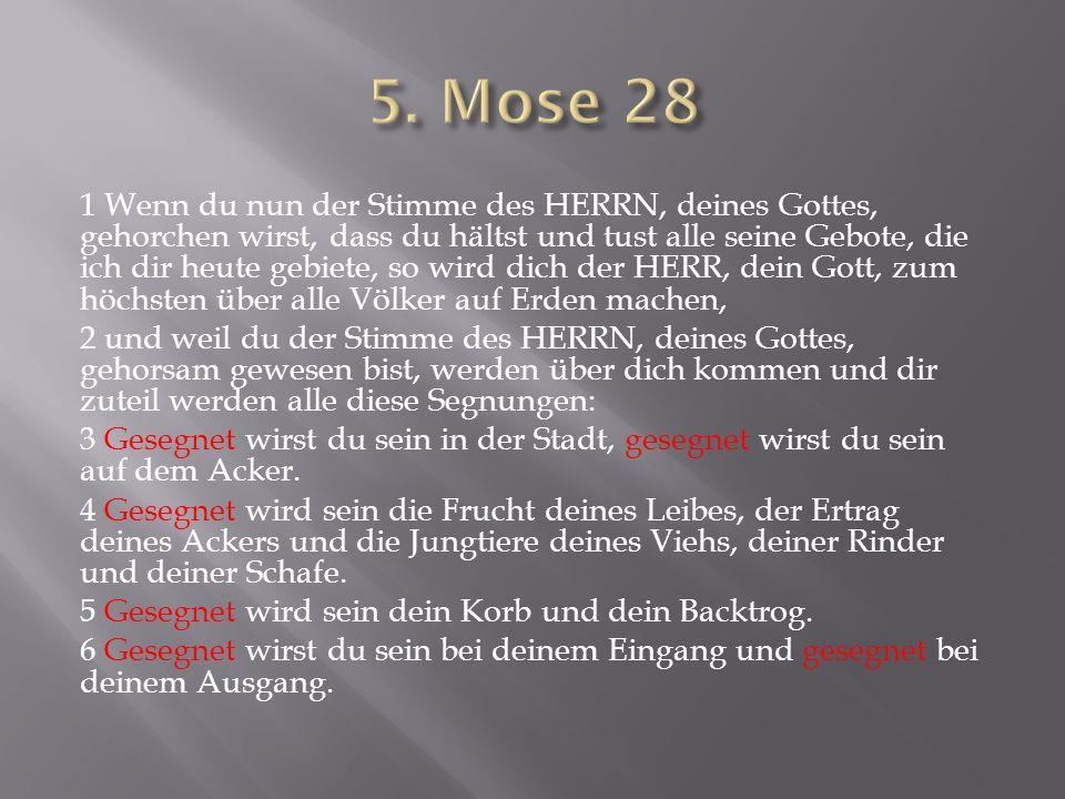5. Mose 28