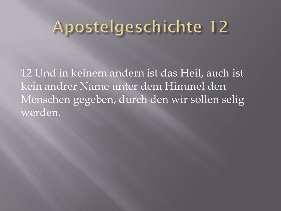 Apostelgeschichte 12