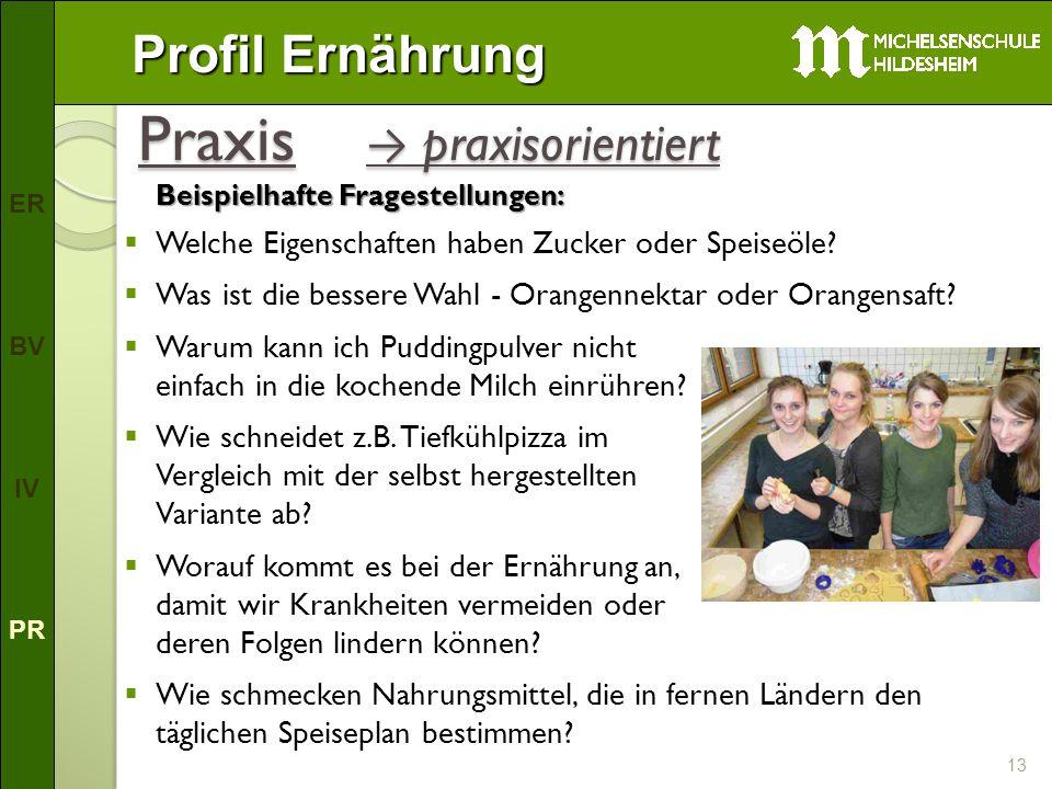 Praxis → praxisorientiert