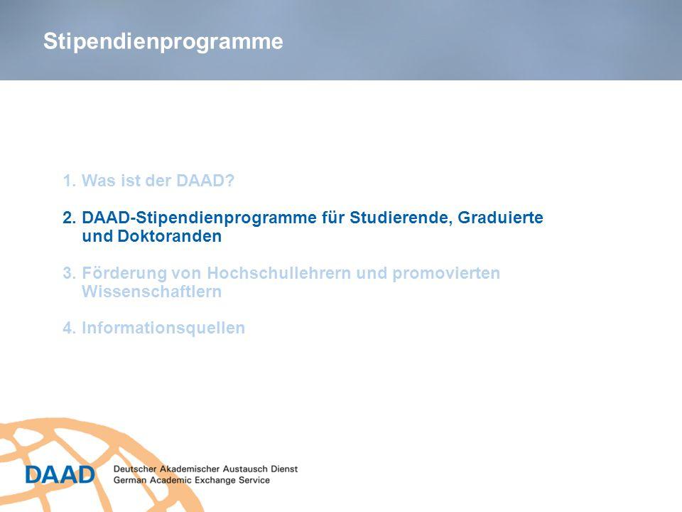Stipendienprogramme