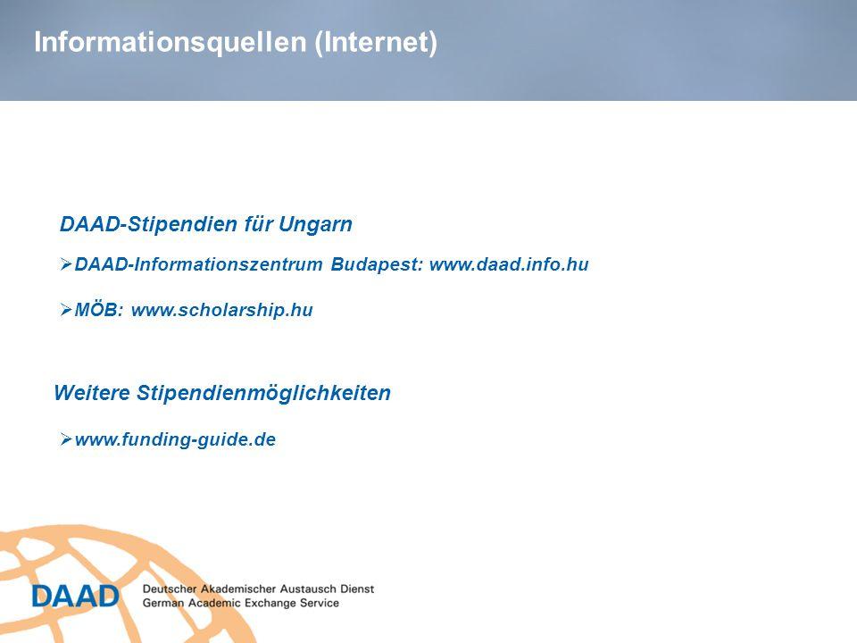 Informationsquellen (Internet)