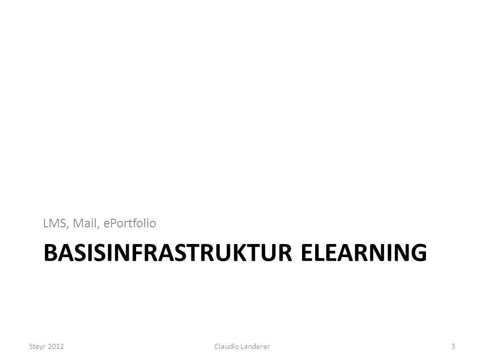 Basisinfrastruktur eLearning