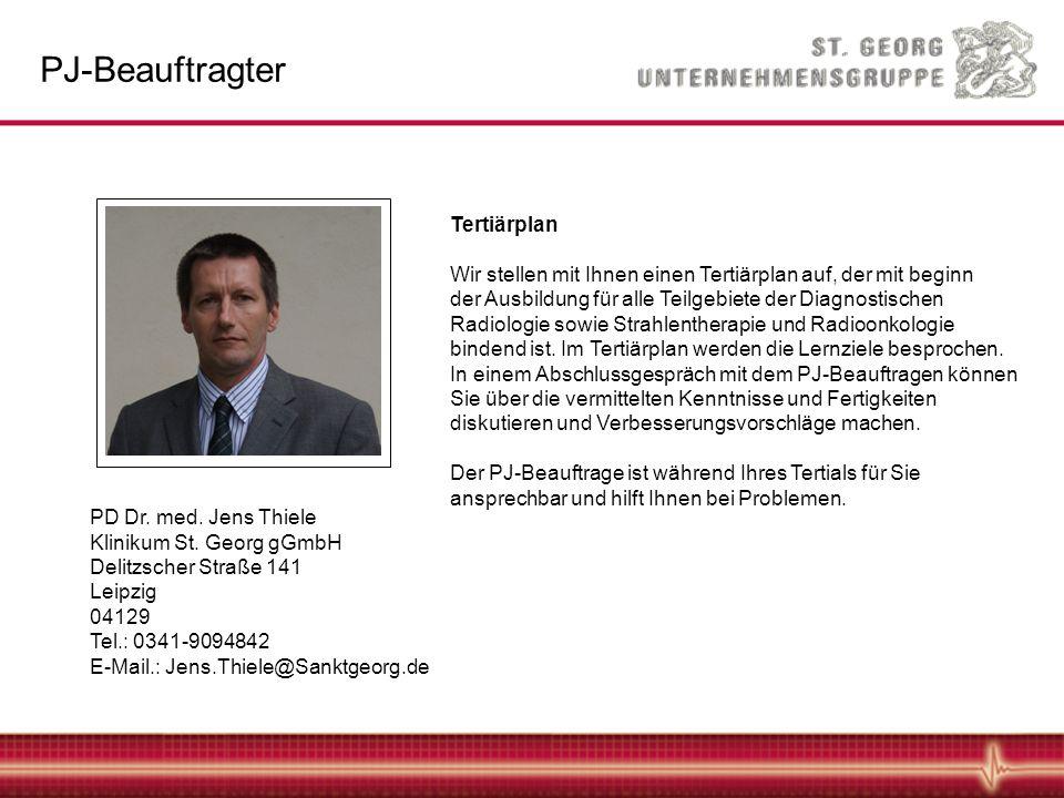 PJ-Beauftragter Tertiärplan