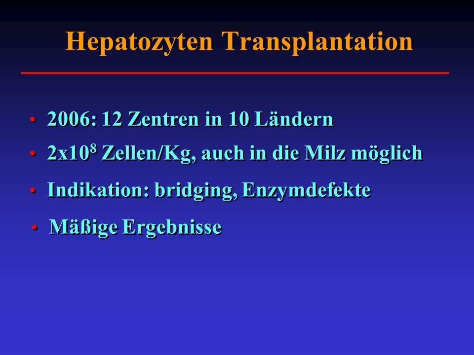 Hepatozyten Transplantation