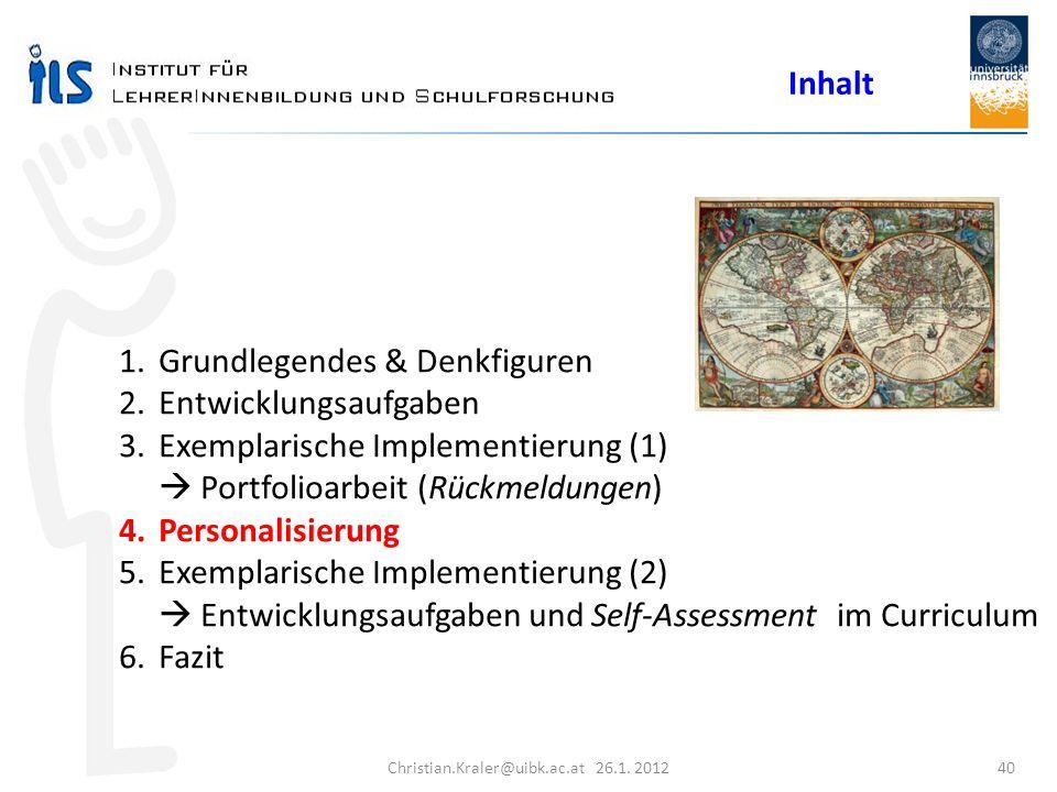 Christian.Kraler@uibk.ac.at 26.1. 2012