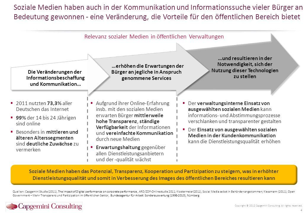 Die Veränderungen der Informationsbeschaffung und Kommunikation…