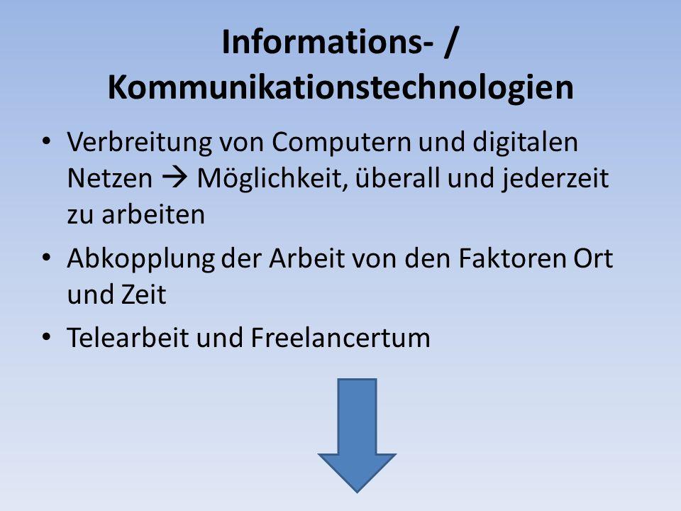 Informations- / Kommunikationstechnologien