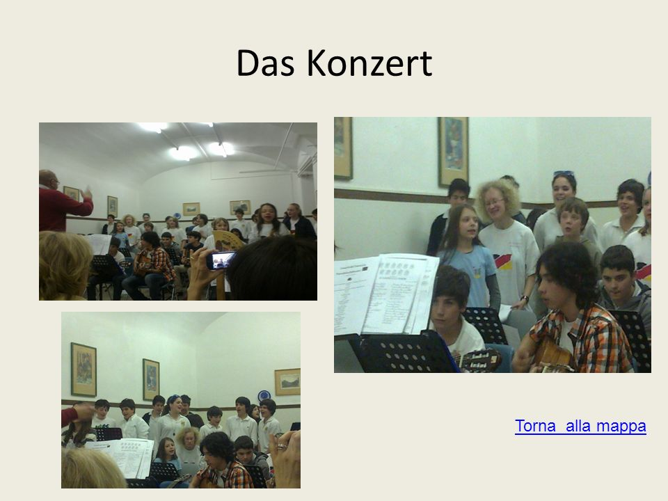 Das Konzert Torna alla mappa