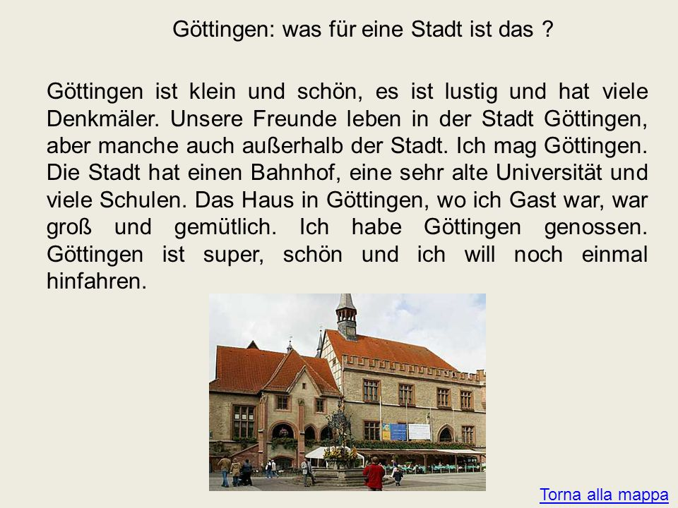 Göttingen: was für eine Stadt ist das