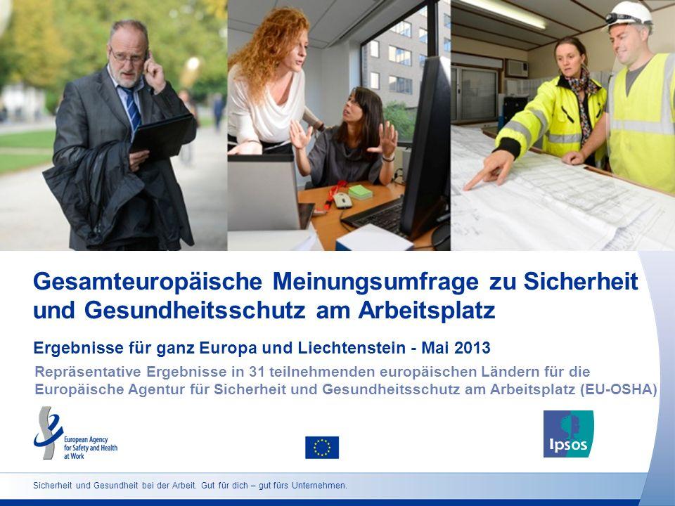 Ergebnisse für ganz Europa und Liechtenstein - Mai 2013